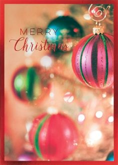 71 best corporate holiday greetings images on pinterest business corporate holiday card colorful christmas ornaments m4hsunfo