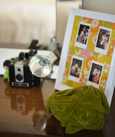 a fun way to display a grouping of instax.  maybe with a background/ instax all from one trip or event.