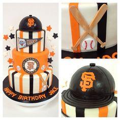 SF #Giants fan #birthday #cake