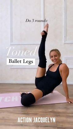 Post Baby Workout, Gym Workout Tips, Barre Workout, Fitness Workout For Women, Fit Board Workouts, Fitness Workouts, Butt Workout, Workout Challenge, Workout Videos