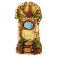 Seize the Moment Fairy Garden Door Decoration,