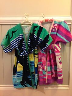 On a Sewing Streak: From Simple Towel to Super Swim Robe