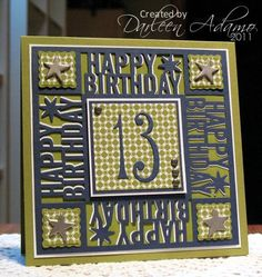 Happy Birthday, Sam!! by darleenstamps - Cards and Paper Crafts at Splitcoaststampers