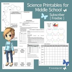 *FREE* Middle School Science Printables