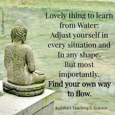 Find your own way to flow...