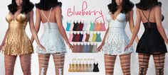 https://flic.kr/p/VBGbNu | Blueberry Ime Lace Dress Set @ Mainstore | Blueberry Lace Dress Set and matching Reign Ime Thigh Highs <3 Coming to Blueberry Main Store at 6:30pm SLT  Store LM: maps.secondlife.com/secondlife/Lenox%20and%20Blueberry/12... If the sim is full please try alternate location: maps.secondlife.com/secondlife/Palau/107/126/25  Fat pack includes a gold shine collection shown in the ad  Love, Blueberry