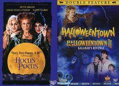 Disney Halloween Magic Triple Feature Halloweentown 1 +2 & Hocus Pocus Creepy...