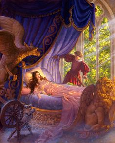 Sleeping Beauty--Not necessarily Disney but I associate it with Disney so...