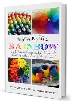 A Slice of the Rainbow eBook   Available on HoosierHomemade.com
