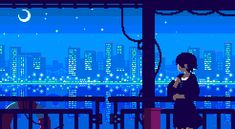 Awesome 8-Bit GIFs Perfectly Capture The Subtle Motion Of Everyday Life - DesignTAXI.com