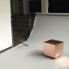 Photo shooting our fantastic AYTM Speculum mirror table
