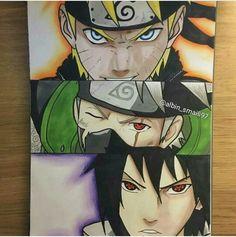 Naruto Sketch, Naruto Drawings, Anime Sketch, Anime Echii, Otaku Anime, Anime Naruto, Naruto Shippuden, Naruto Kakashi, Boruto