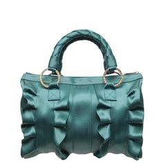 Lola Satchel Teal - HARVEYS Original Seatbeltbags