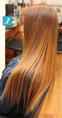 Copper Shades _ Degradé Joelle  #cdj #degradejoelle #tagliopuntearia #degradé #igers #musthave #hair #hairstyle #haircolour #longhair #oodt #hairfashion #madeinitaly