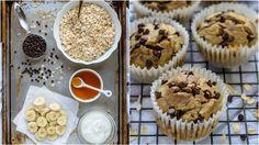 Ak hľadáte extra jednoduchý a rýchly dezert, ktorý nie je plný cukru a tuku, určite vyskúšajte tento recept. Oceníte ho napríklad aj ako chutnú desiatu pre vaše deti. Cooking Recipes, Healthy Recipes, Scones, Food Hacks, Nom Nom, Cupcakes, Yummy Food, Cookies, Breakfast