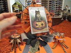 3-D Star Vintage Halloween Wands Halloween Ornaments, Cute Halloween, Vintage Halloween, Halloween Crafts, Cursed Child Book, Straws, Craft Tutorials, Art Journals, Rosettes