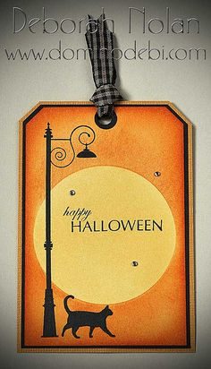 Cat Halloween Tag by Deborah (aka Gigi), via Flickr