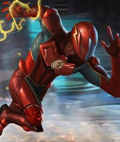 Awesome Flash Artwork! #comicsandcoffee By Wyruzza