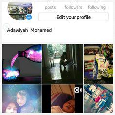 Follow me on instagram  @mohamedadawiyah