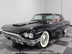 My parents had a 1964 black Thunderbird like this with red leather interior & swivel front seats.