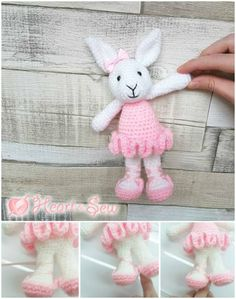 63 Free Crochet Bunny Amigurumi Patterns - Page 4 of 6 - DIY & Crafts