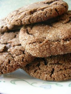 Grammy's Chocolate Cookies... No baling powder or cornstarch!