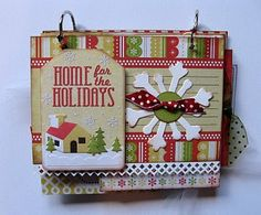 Of Cats and Cardstock: Christmas Mini-Album + Other Thoughts