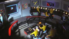 Star Trek Prop, Costume & Auction Authority: The Ultimate AMT Star Trek: Original Series U. Star Trek Models, Bridge Model, Bridge Construction, Sci Fi Tv Shows, Star Trek Starships, Star Trek Original, Starship Enterprise, Star Trek Universe, Space Images