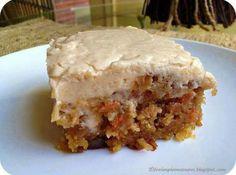 Gooey Cinnamon Carrot Cake Recipe