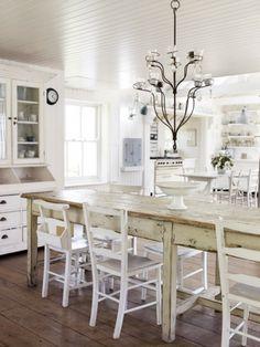 Keltainen talo rannalla - love this kitchen 5
