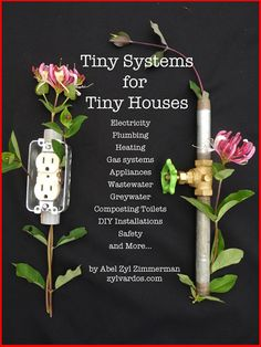 Tiny Systems for Tiny Houses, an eBook by Zyl Vardos (builder of beautiful, though not necessarily altogether functional, mobile nests).
