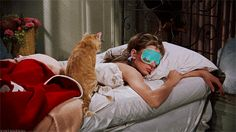 Audrey Hepburn in the film Breakfast at Tiffany's (Blake Edwards - Large Size Digital Painting Size: W 180 cm – H 100 cm Software: MyPaint [. 10 Film, Pranayama, Audrey Hepburn, Blake Edwards, Morning Person, Breakfast At Tiffanys, Quites, Sleep Mask, Bedtime