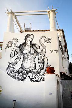 ozmo a new mural in capri