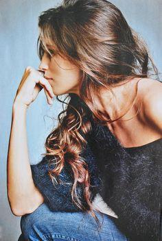 luxurious hair