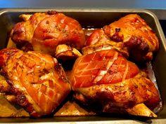Golonka po bawarsku - Blog z apetytem Fried Chicken, Tandoori Chicken, Food Art, Carne, Grilling, Pork, Food And Drink, Menu, Cooking Recipes