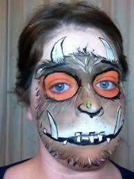 face painting gruffalo - Google Search