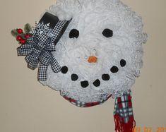Items similar to Snowman Wreath Wire Form on Etsy Wire Wreath Forms, Snowman Wreath, Pet Home, Snowball, Mesh Wreaths, Deco Mesh, Snowflakes, Burlap, Crochet Hats