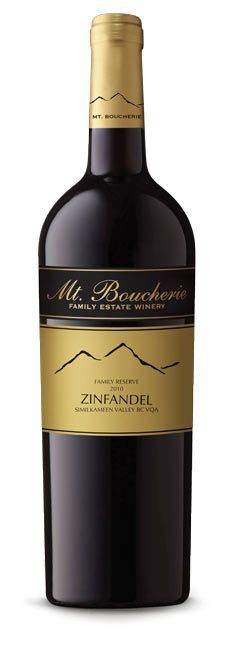 Mt Boucherie Zinfandel - great red #bcwine.