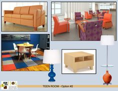 after school team room bright style
