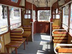 Pierrot Heritier photos/Cities of the world/Budapest, Hungary/Old Tramway with wooden seats Budapest, Old Photos, Vintage Photos, Capital Of Hungary, Commercial Vehicle, 1960s, Retro Vintage, Traditional, Mom