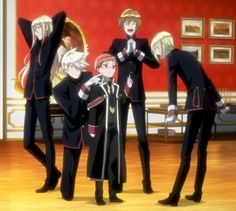 Oushitsu Kyoushi Haine (The Royal Tutor) Anime Nerd, Anime Guys, The Royal Tutor Anime, Danshi Koukousei No Nichijou, Hataraku Maou Sama, Anime Family, Gekkan Shoujo Nozaki Kun, Manga, Chibi