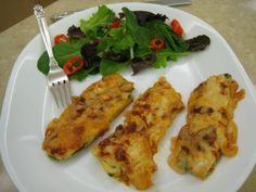 Chicken Lasagna Strips – Low Carb Recipe