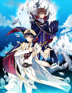 Lelouch and Suzaku | Code Geass #anime
