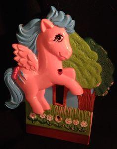 VTG MLP 1984 HASBRO My Little Pony FIREFLY Light Switch Cover Plate in | eBay