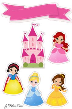 Princess Party, Disney Princess, Cake Templates, Diy And Crafts, Paper Crafts, Birthday Clipart, Pop Up Box Cards, Baby Shawer, Princesas Disney