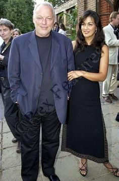 David Gilmour & wife Polly Samson | Pink Floyd                                                                                                                                                                                 More
