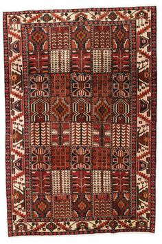 Dywan Baktjar 198x295 Iran, Bohemian Rug, Rugs, Decor, Farmhouse Rugs, Decoration, Decorating, Rug, Deco