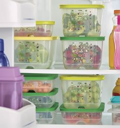 Keep healthy eats fresh, organized and within reach.