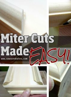 Not confident in your carpentry skills? Improve the look of your DIY projects and check out these how to make miter cut tips!