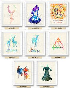 FREE SHIPPING Harry Potter art print The Marauders par NeighborArts